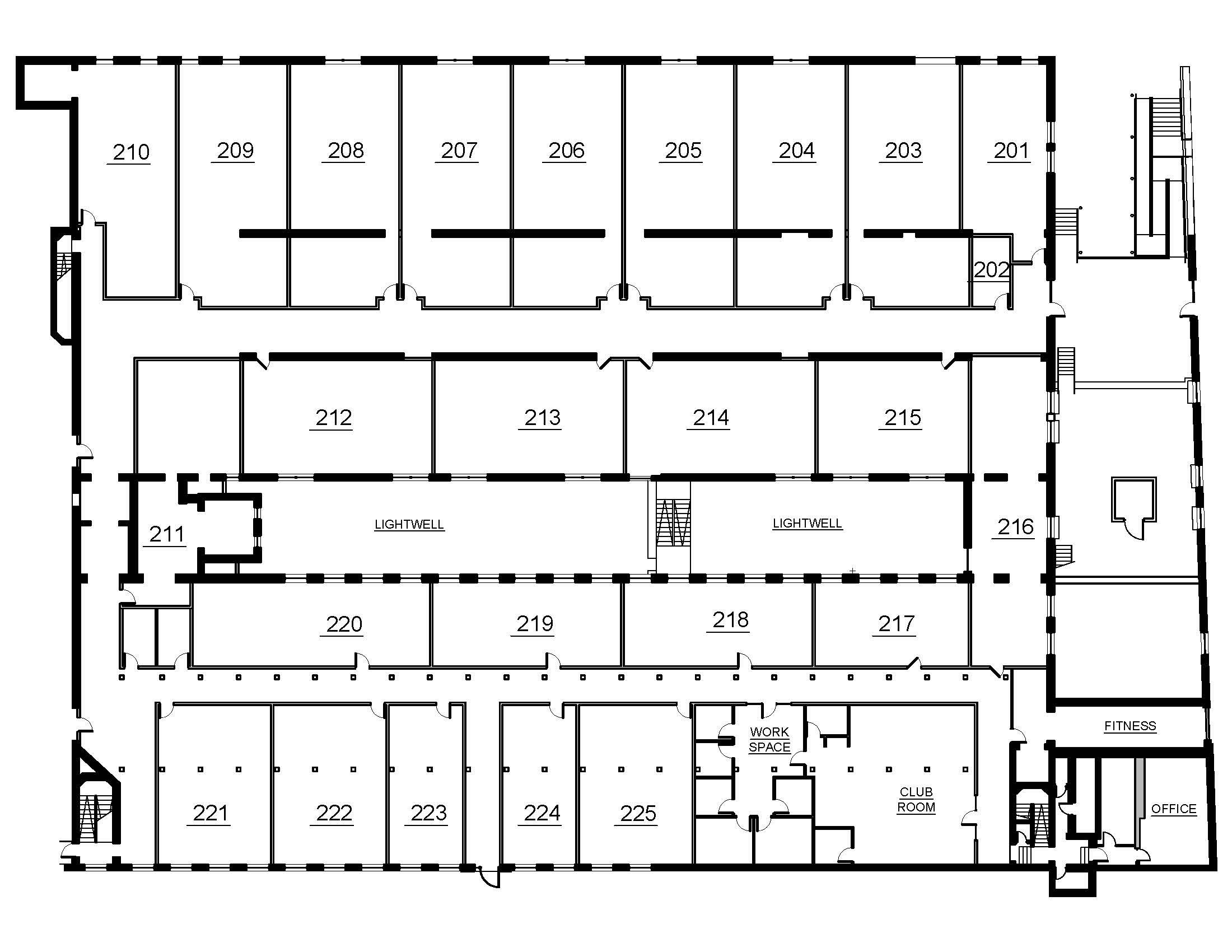 Halifax Lofts Second Floor